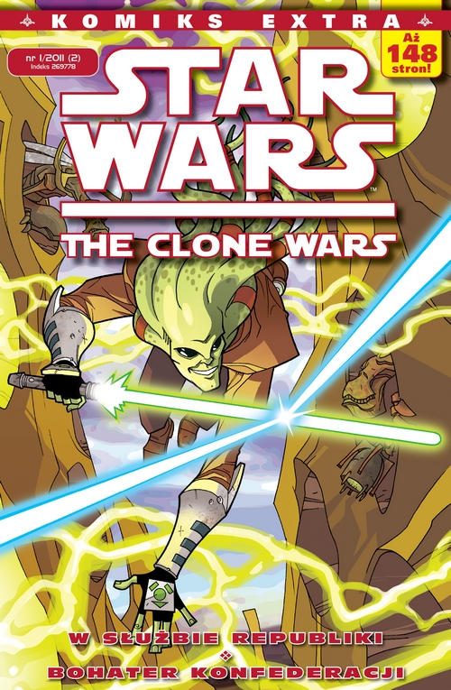 Star Wars Komiks Extra #02 (1/2011): The Clone Wars