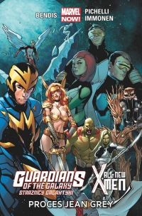 Guardians of the Galaxy. Strażnicy Galaktyki / All-New X-Men #01: Proces Jean Grey