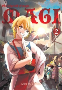 Magi: Labyrinth of Magic #02