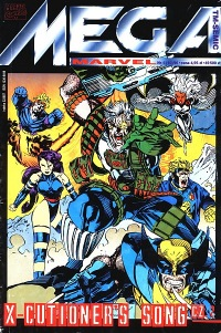 Mega Marvel #10 (1/96): X-Cutioner's Song cz.2