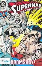 Superman #56 (7/1995): ...Doomsday is near!; Doomsday już tu jest!