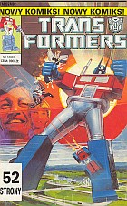 Transformers #01 (1/1991): The Transformers; Gra mocy